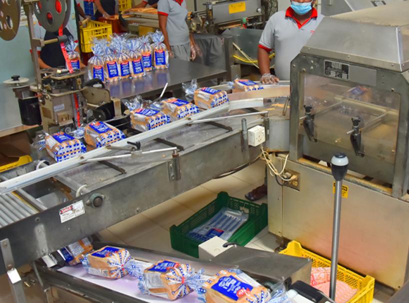 Finagle production line