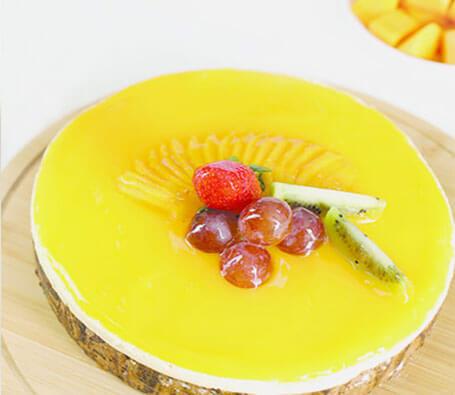 Finagle Mango Mouuse cake