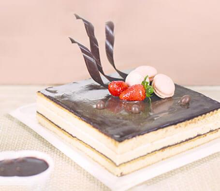 Finagle Opera Cake