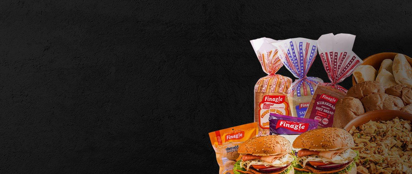 Range of Finagle Lanka Bakery Products